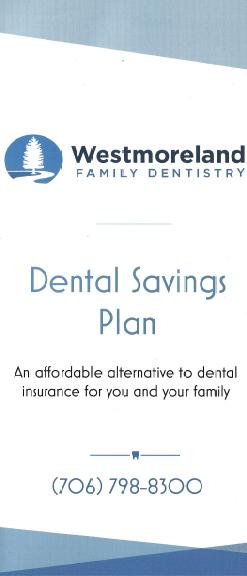 Westmorelandfamilydentistry Dental Savings Plan